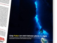 Oral B Pulsar toothbrush print ad