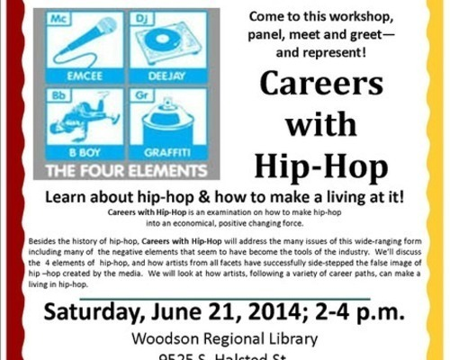Careers With Hip-Hop Flyer