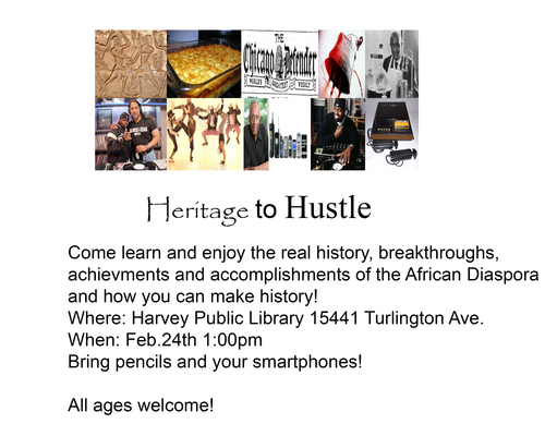 Heritage to Hustle Flyer