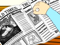 Animation Production Studio Film - Newspaper Turn