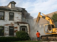 Church Rectory Demolition