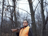 Dad, hunting season