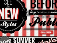 BucketFeet Sneak Peak Email Banner