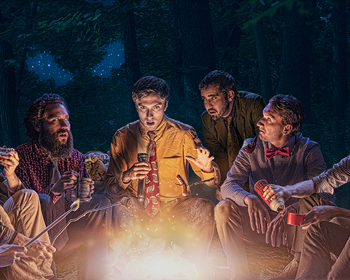 Gramps the Vamp Campfire Scene