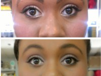 Correction - false eyebrow