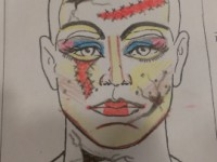 Fantasy Character Make Up Sketch