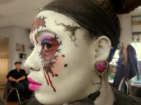 Fantasy Character Make Up Side View 2