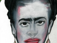 Caricature of Frida