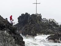 Cross on the Ocean