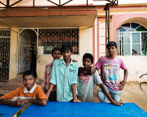 The young men of Ashray in Jharkand, India