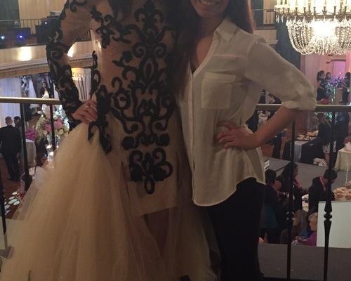 Elaya Vaughn by Kate Pankoke Fashion Show Dresser