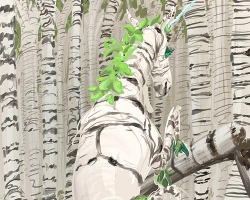 Birch Unicorn