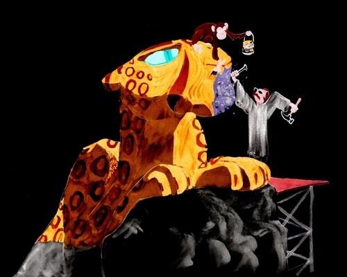 Cheetah Sculptor