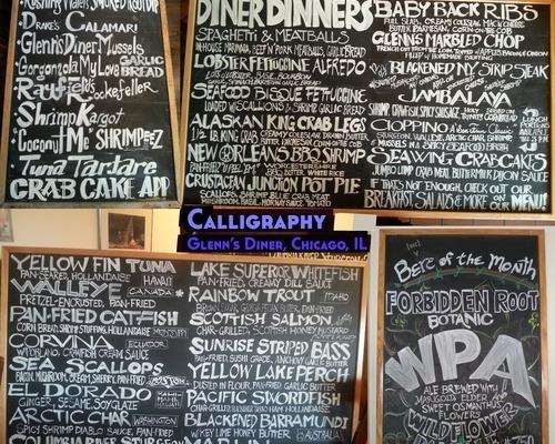 Blackboard Calligraphy
