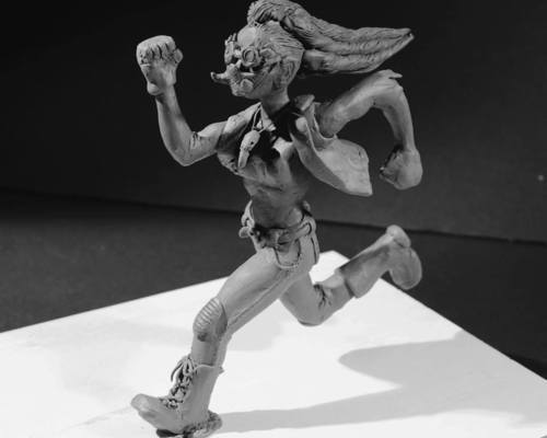 Mar Character Maquette