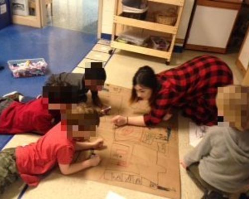 Adding details to our map of our school