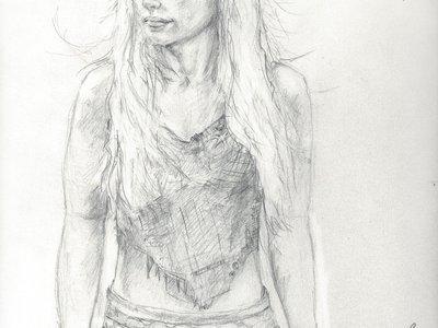 Khaleesi Drawing