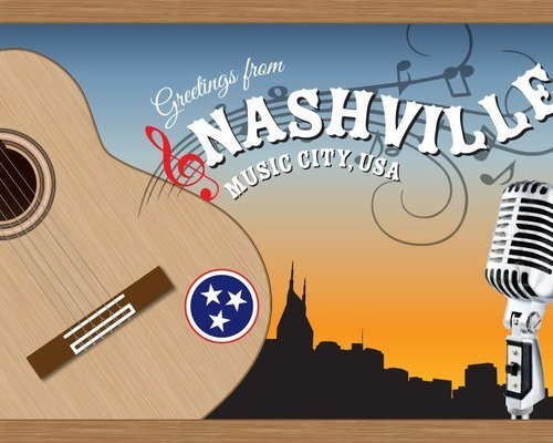 Greetings from Nashville Postcard Project