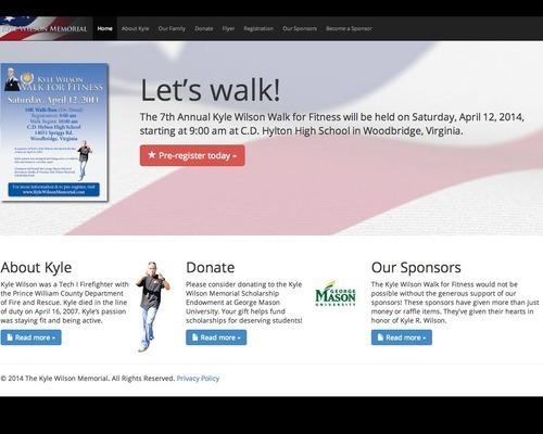 Kyle Wilson Memorial Website