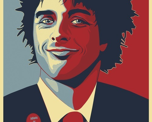 Vote For Billie Joe Poster