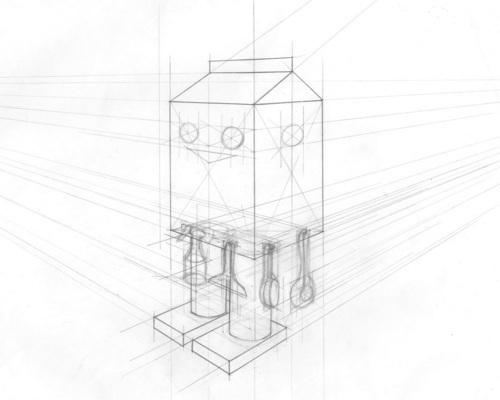 Robot Perspective Sketch