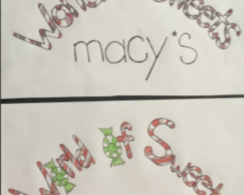 Macy's Holiday Window (Logo)
