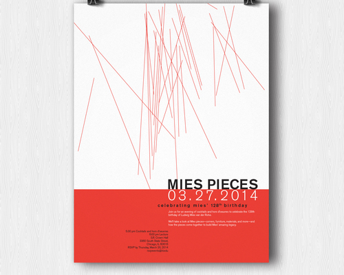 Mies Pieces Poster Redesign
