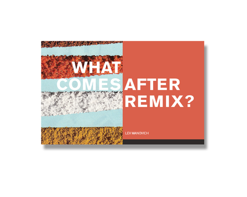 """What comes after remix?"" Book Design"