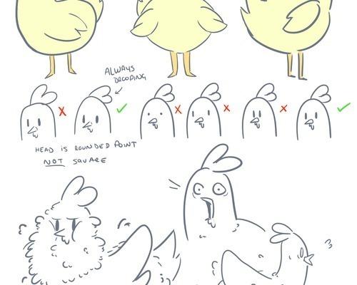 Chicken character sheet