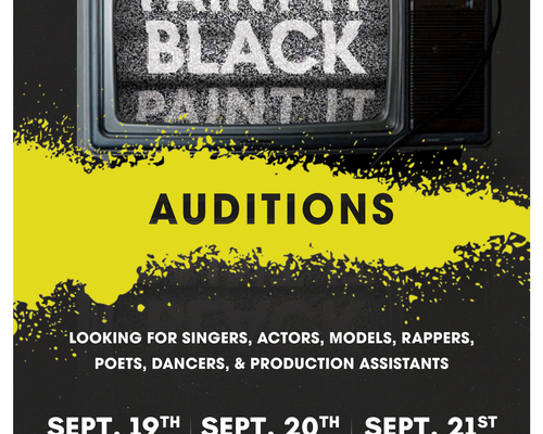 PIB Audition Poster
