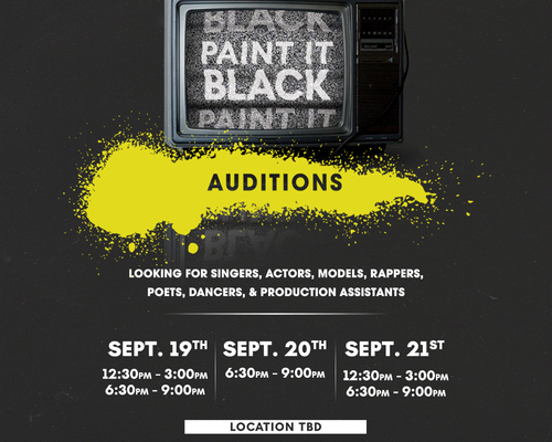 PIB Auditions Square Graphic