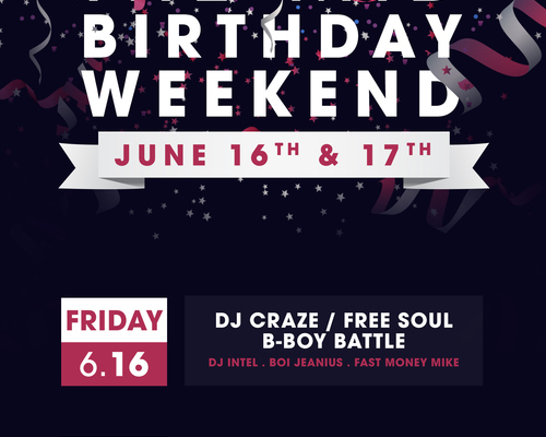 Birthday Weekend Poster