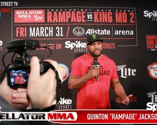 """Bellator 175 Quinton """"Rampage"""" Jackson"""