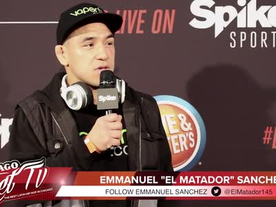 "Bellator 175 Emmanuel ""El Matador"" Sanchez Post Fight Press Conference"