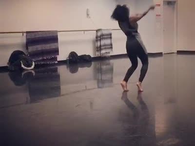 "Jazz Dance Technique Class ""Pleasure Principle"" Choreographed by Keesha Beckford"