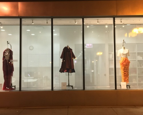 Three Window Sari