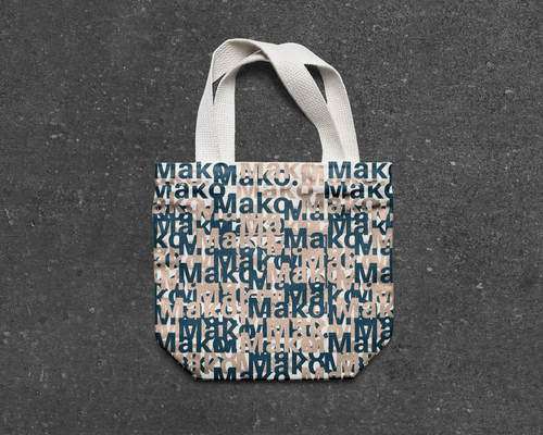Mako, the Shark Tote Bag