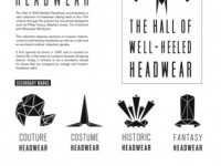 Hall of Well-Heeled Headwear Museum Identity